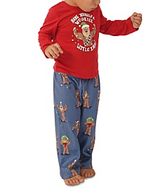 Matching Toddler Star Wars Holiday Chewbacca Family Pajama Set