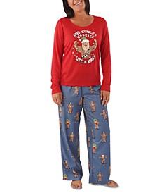 Matching Women's Star Wars Holiday Chewbacca Family Pajama Set