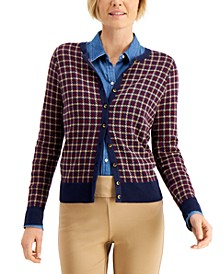 Plaid Cardigan, Created for Macy's