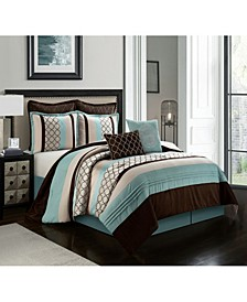 Sydney 8-Piece California King Comforter Set