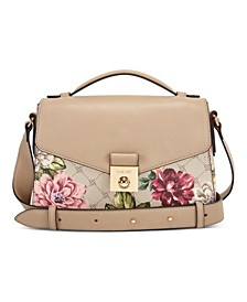 Lux Lock Flap Crossbody