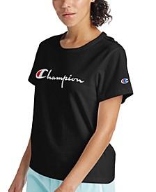 Women's The Girlfriend Cotton Logo T-Shirt
