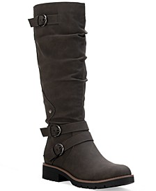Brinley Strapped Lug-Sole Boots, Created for Macy's