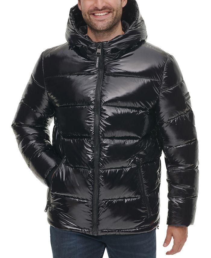 Calvin Klein - Men's High Shine Puffer Jacket