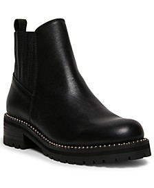 Women's Gale Studded Lug-Sole Booties