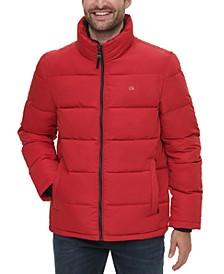 Men's Full-Zip Puffer Coat, Created for Macy's