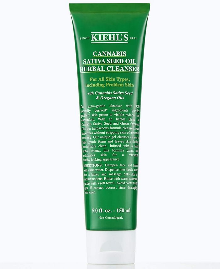 Kiehl's Since 1851 - Cannabis Sativa Seed Oil Herbal Cleanser, 5-oz.
