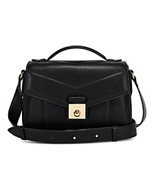 Lux Lock Crossbody Flap