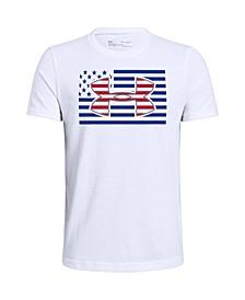 Big Boys Americana Big Logo T-shirt