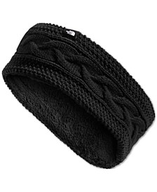 Cable Minna Fleece-Lined Earband