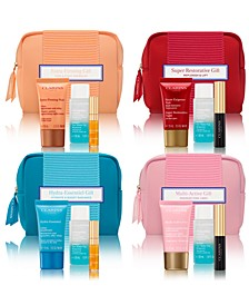 Choose your FREE 4-pc Gift with any $75 Clarins Purchase (Up to a $61 value!)*