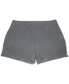 INC Bengaline Pull-On Shorts, Created for Macy's