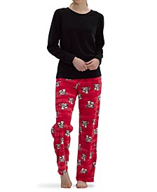 Sueded Fleece Pajama Set