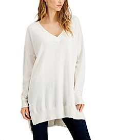 High-Low Sweater Tunic