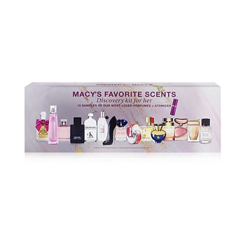15-Piece Macy's Favorite Scents For Her Fragrance Discovery Set