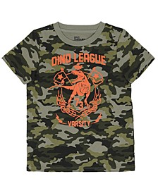 Toddler Boys Camo Graphic Knit Tee