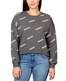 Juniors' Moody Graphic Sweatshirt