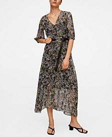 Women's Printed Retro Dress