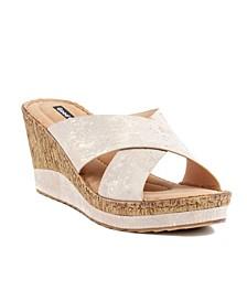 Nelena Wedge Sandal