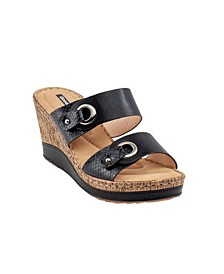 Merla Wedge Sandal