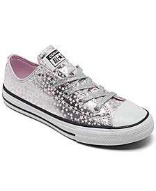 Little Girls She's A Star Chuck Taylor Casual Sneakers from Finish Line