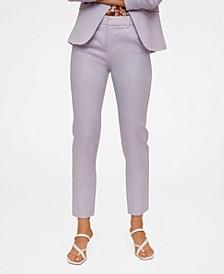 Women's Linen-Blend Pants