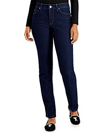 Lexington Tummy-Control Straight-Leg Jeans, Created for Macy's
