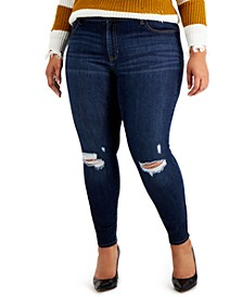 Trendy Plus Size Kimi Sculpting Skinny Jeans