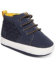 Baby Boys Quilted Pop Color Sneakers, Created for Macy's
