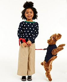 Toddler Girls Dot Sweater, Created for Macy's