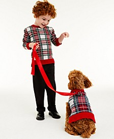 Toddler Boys Plaid Sweater, Created for Macy's