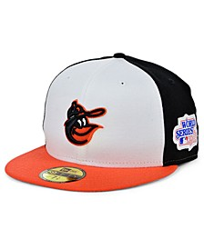 Baltimore Orioles World Series Patch 59FIFTY Cap