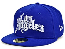 Los Angeles Clippers Clips Custom 59FIFTY Cap