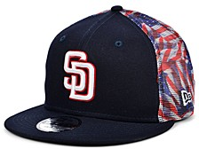 San Diego Padres Flag Mesh Back 9FIFTY Cap