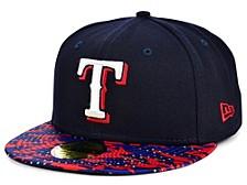 Texas Rangers Star Viz 59FIFTY Cap
