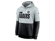 Nike Men's Las Vegas Raiders Sideline Team Lockup Therma Hoodie