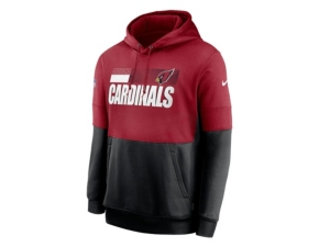 Nike Arizona Cardinals Men's Sideline Team Lockup Therma Hoodie