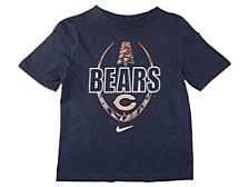 Chicago Bears Kids Football Icon T-Shirt