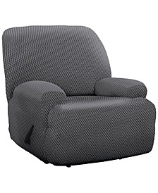 Stretch Sensations Checkered Jumbo Recliner Slipcover