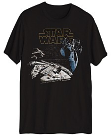 Young Men's Star Wars Space Battle Graphic T-shirt