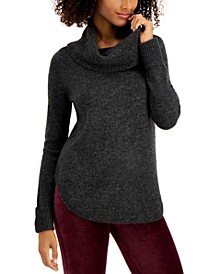 Waffle Cowlneck Tunic, Created for Macy's