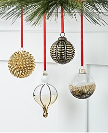 Black Tie  Ornament Collection, Created for Macy's