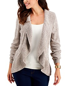 Plus Size Cocoon Open-Front Cardigan, Created for Macy's