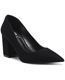 Women's Frittam Pointed-Toe Block-Heel Pumps