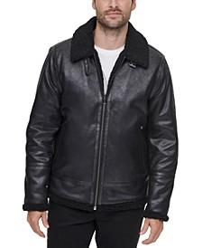 Men's Faux-Shearling Jacket