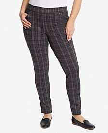 Gloria Vanderbilt Women's Plus Size Avery Pull on Slim Short Pant