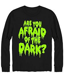 Men's Afraid of The Dark Long Sleeve T-shirt