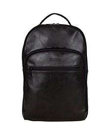 "Vegan Leather Slim 15.6"" Laptop Backpack"