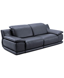 Daisley 2-Pc. Leather Sofa with 2 Power Recliners