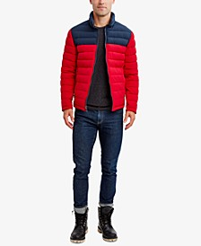 Men's Reversible Stretch Quilted Jacket